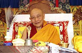 Kyabje Trulshik Rinpoche